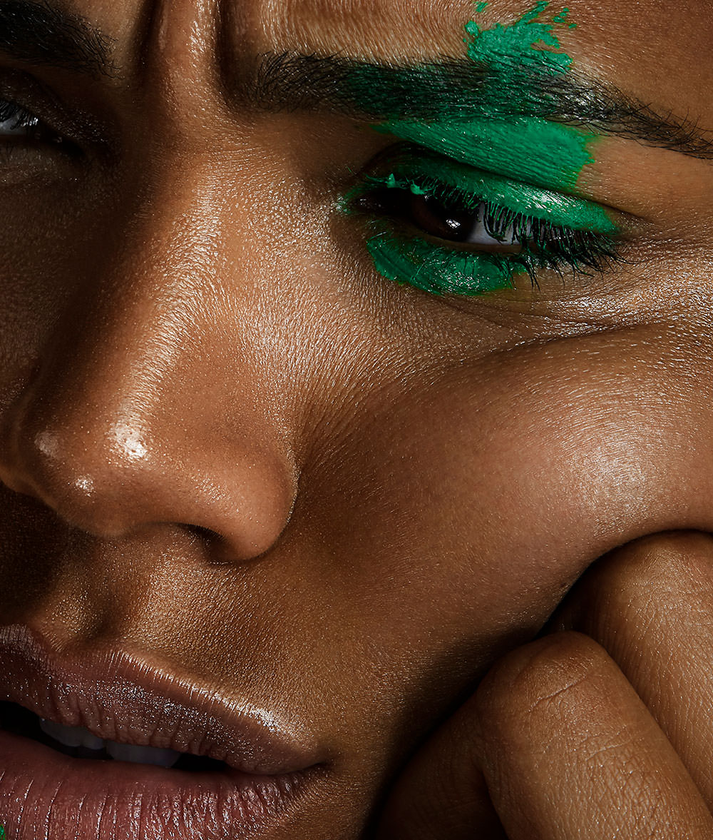 creative makeup and beauty editorial shot at wow pictures by Camilo Mateus