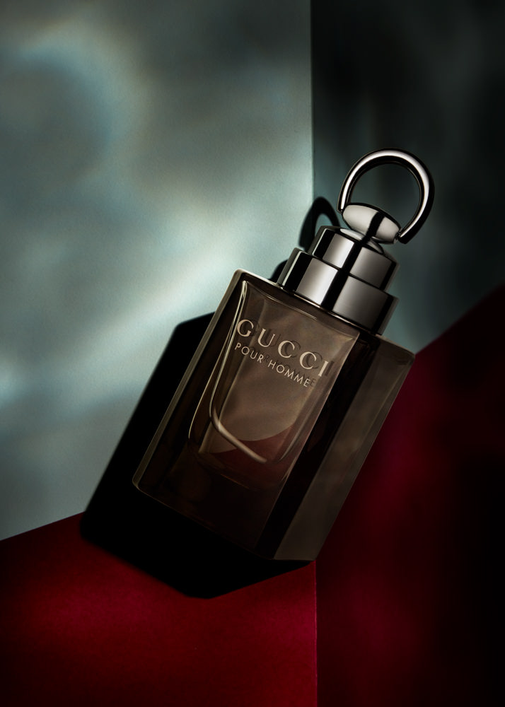 gucci pour homme creative perfume editorial
