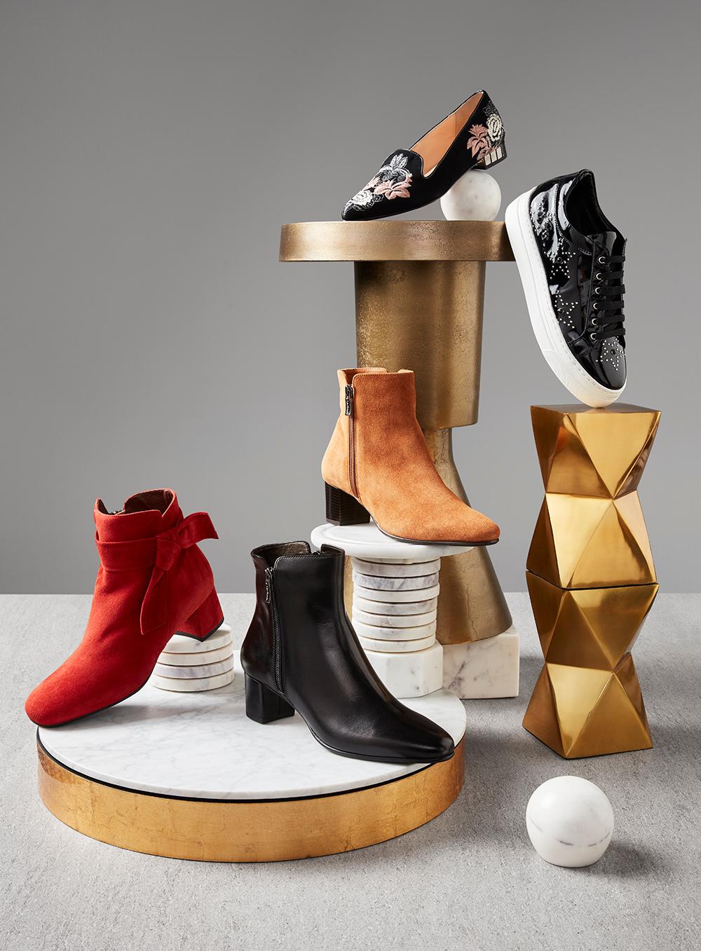 ladies winter shoe lookbook shot by wow pictures studios