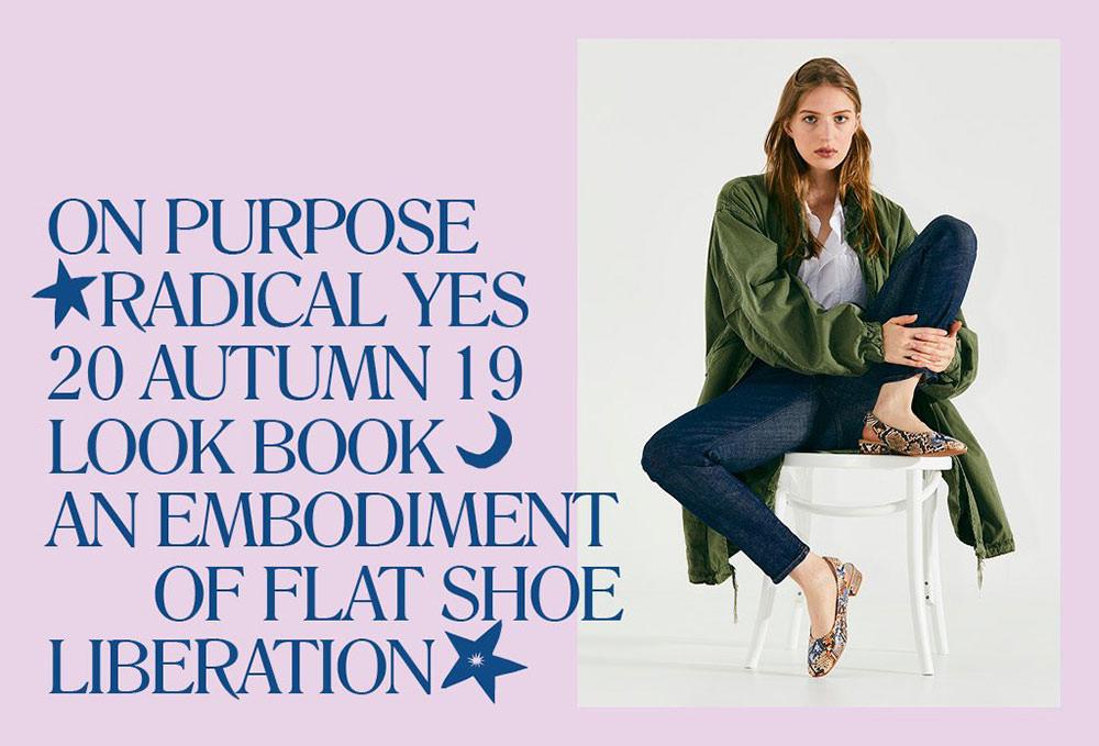 radical yes autumn fashion lookbook shot in studio
