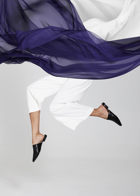 creative shoe editorial shot in melbourne