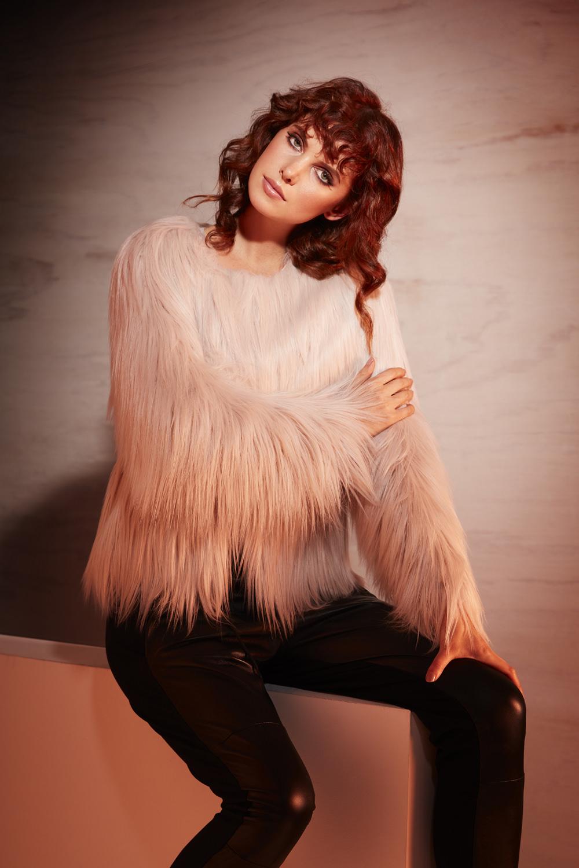 un-real fur lookbook model imagery
