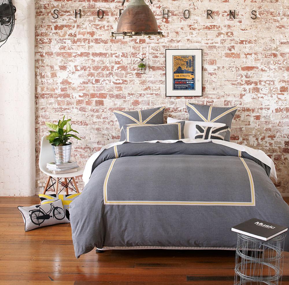 adairs bed linen bedroom room set photography